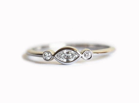 Pretty and simple diamond ring. Our diamonds listed are all-natural with absolutely no enhancements or treatments. Diamonds are conflict-free. We use $650