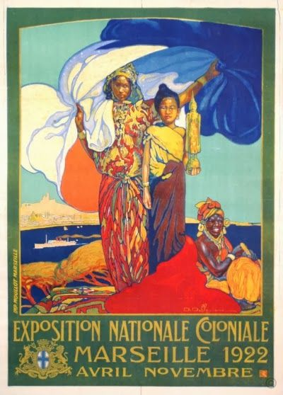 From the Exposition Coloniale 1922