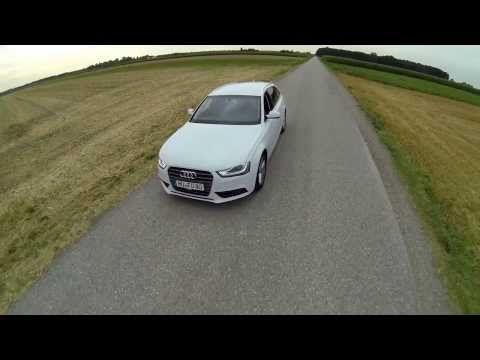 DJI Phantom Fly by Audi - with Zenmuse H3 2D Gimbal Fatshark FPV - YouTube