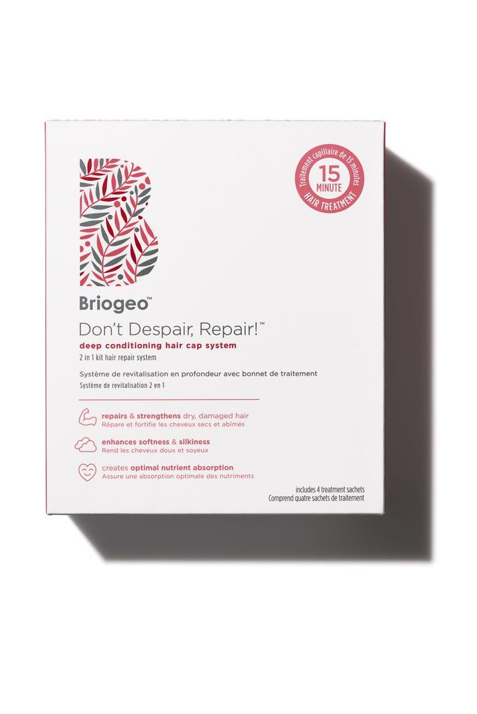 Don't Despair, Repair!™ Deep Conditioning Hair Cap System Kit – Briogeo Hair Care