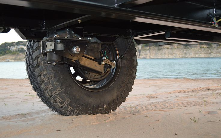 Beautiful These Are Underslung Axles Smaller Tires And Axle Tubes Diameters