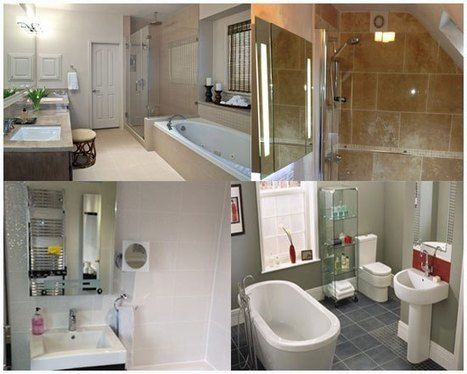 Get some ideas about how to redecorate Your bathroom into a spectacular one from the expert bathroom fitters and designers.