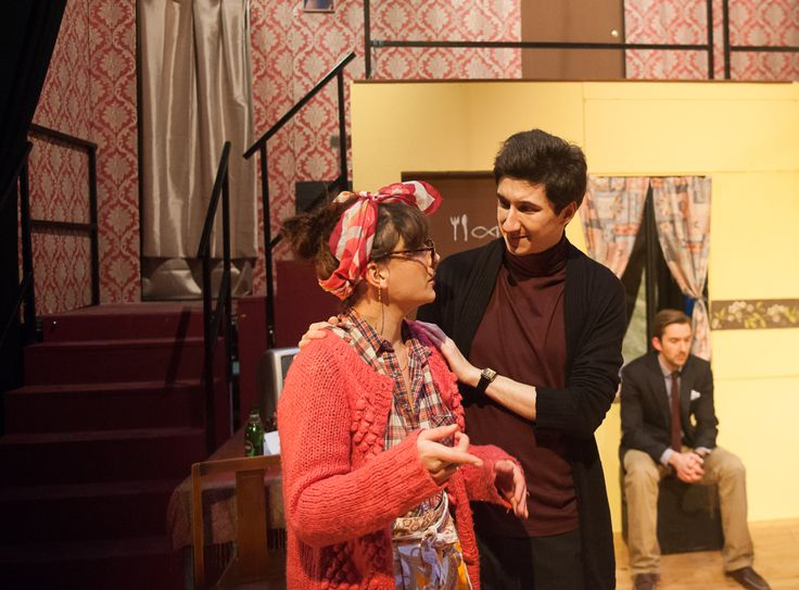 Voted as the nation's second favourite play, PurpleCoat staged Michael Frayn's masterpiece farce, Noises Off, at the G2 Theatre in January 2014. It kicked off their 6th year in operation. Dir: Karl Falconer