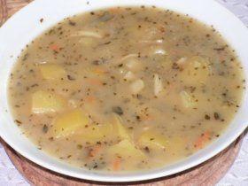 Majoránková polévka