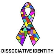 D I D ribbon with dissociative identity facebook profile picture size -  from http://traumadissociation.com/awareness