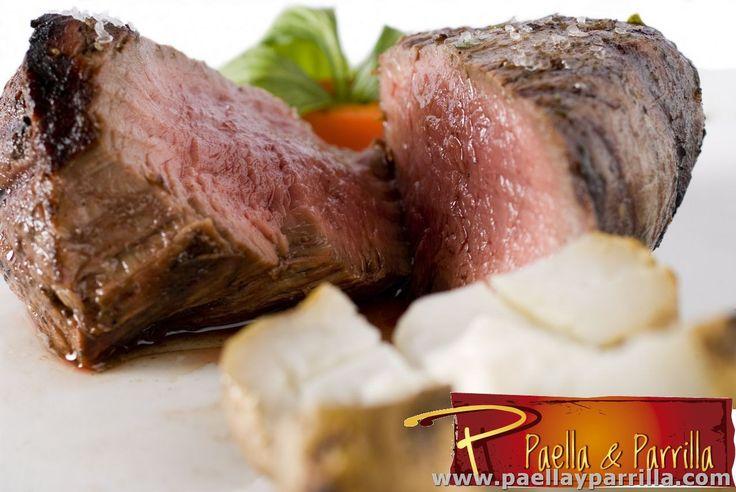 PARRILLA   Cortes gruesos •Solomito pampa •Bife de punta •Bife de chorizo •Stearling