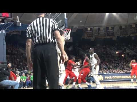 Highlights | Syracuse Orange at Notre Dame. Highlights from the Syracuse men's basketball team's 65-60 win at No. 9/8 Notre Dame on Feb. 24, 2015. NCAA College Basketball.