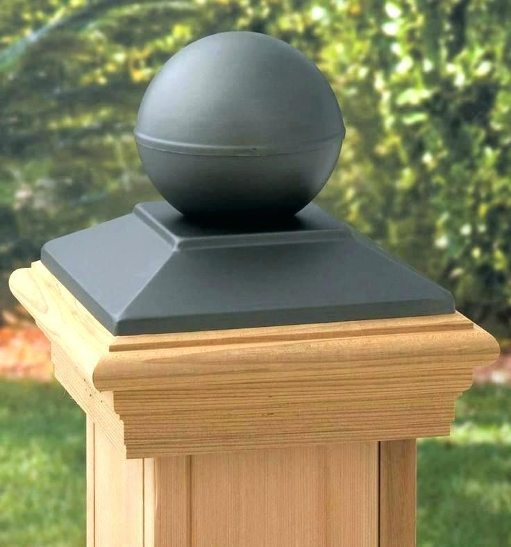 Bed Post Toppers Round Fence Caps Wood Cap The Best Furniture