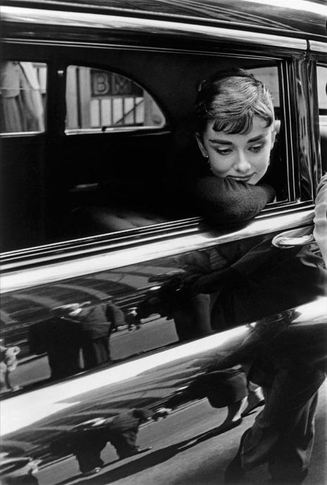 Stunning I love Audrey Hepburn. She is one of the people I idolize the most.