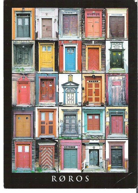 Roros,Norway,,,,,doors of Roros :)
