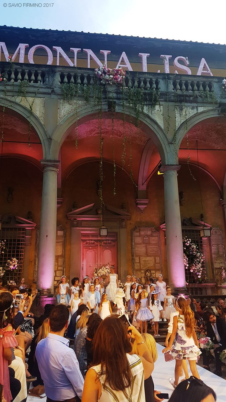 Monnalisa Fashion Show, Giardino Corsini in Florence, June 22nd, 2017