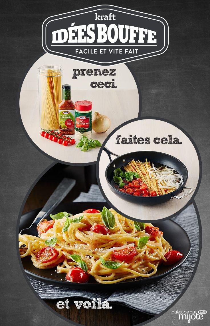 Pâtes aux tomates séchées tout en un #recette