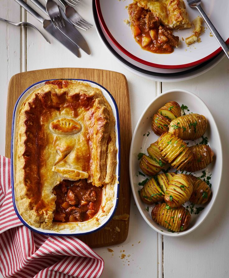 'Mam's Beef and Potato Pie' Styled by Angela Boggiano