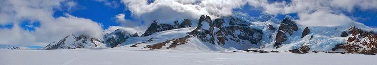 CHILE: Campo de Hielo Sur - Cordón Adela, ubicado dentro del parque nacional Bernardo O'Higgins, en la comuna de Natales, provincia de Última Esperanza en la región de Magallanes y de la Antártica Chilena.
