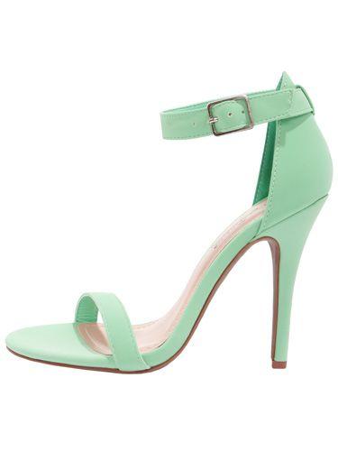 Anne Michelle Enzo Strap Heels, $26, Lulu's