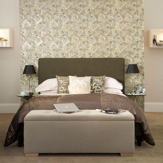 Neutral bedroom with hidden storage