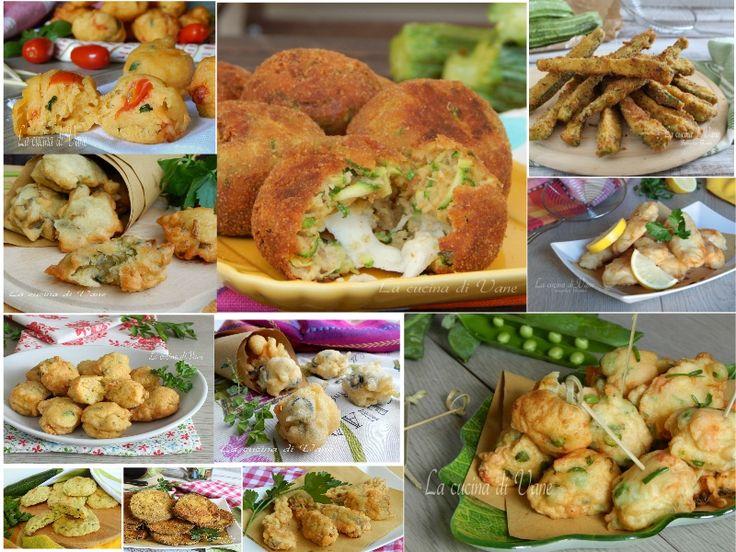 FRITTELLE PER LA VIGILIA DI NATALE ANCHE IN FORNO tante ricette semplici e gustose, ricette per frittelle di pesce e verdura per la Vigilia di Natale