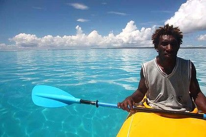Kayaking in Papua New Guinea Bismarck-Archipelago-