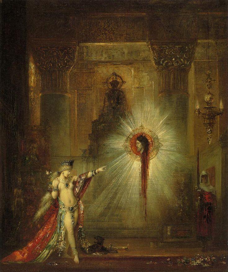 出現(L'Apparition) 1876年頃 | 油彩・画布 | 55.8×46.6cm | フォッグ美術館