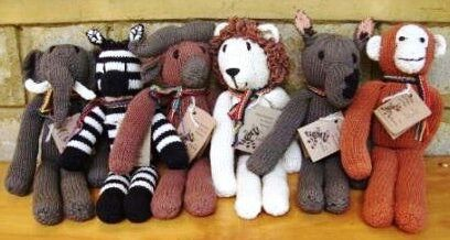 Treat your loved one to a handknitted toy!