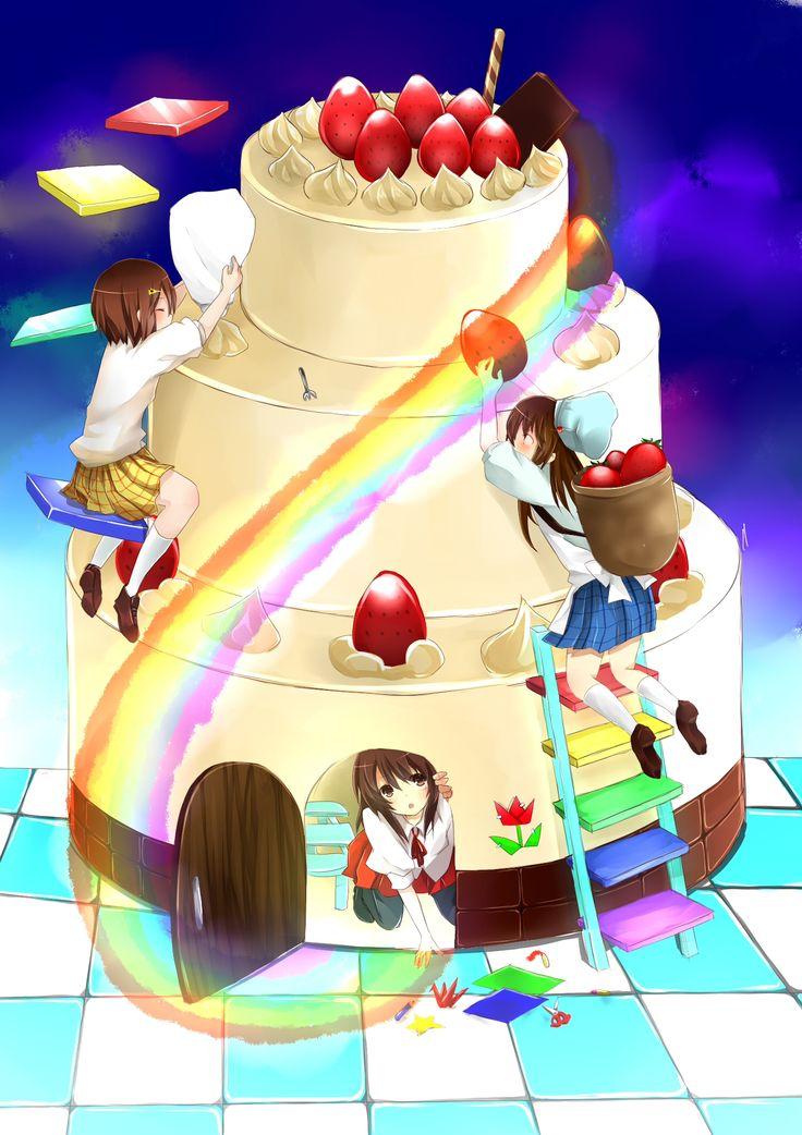 Madoka Cake Planet