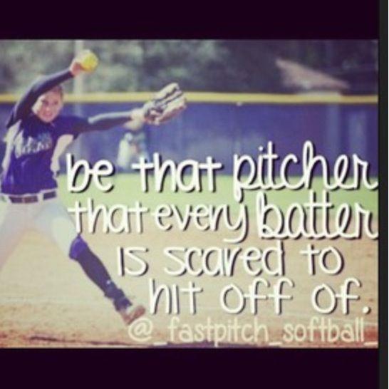 Softball Pitch Hard~ maybe Makenzie or Savanna