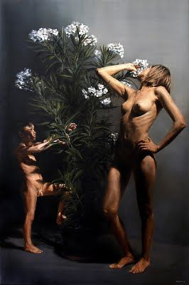 mythology - sarahorog,Flora