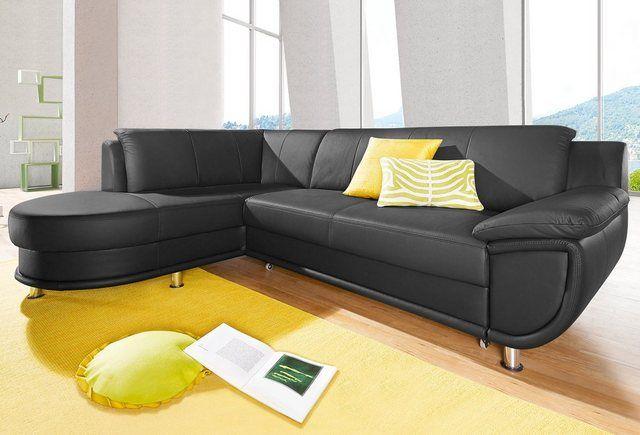 Ecksofa Wahlweise Mit Bettfunktion Ecksofas Sofa Couch Mit Schlaffunktion