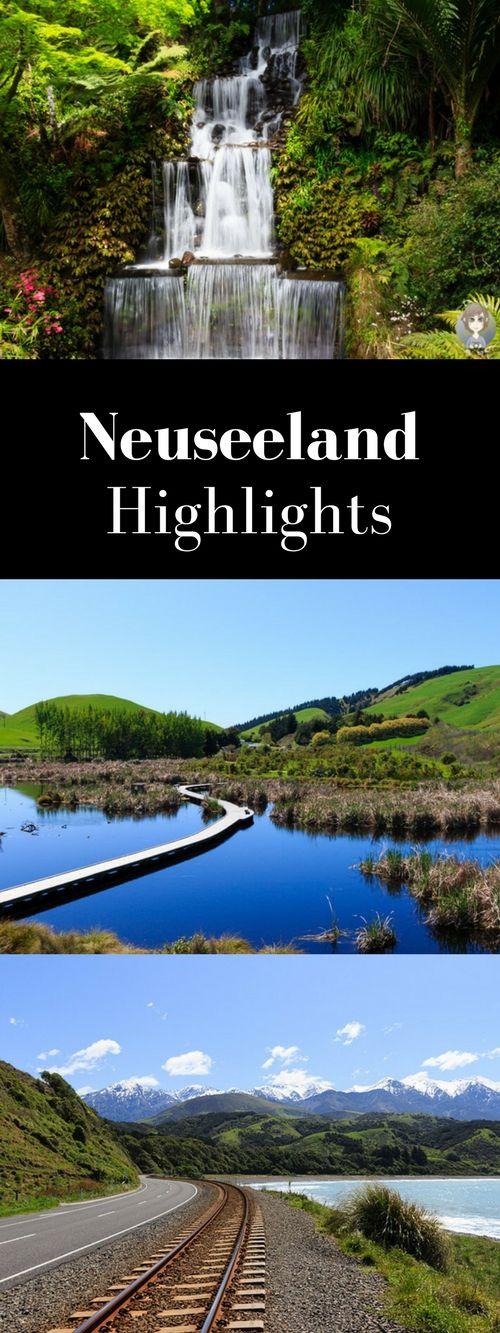 Reisetipps ✰ Unsere Neuseeland Highlights auf einen Blick! ➙ Hier findest du Sehenswertes, Wanderungen, Spartipps, Campingtipps und vieles mehr.