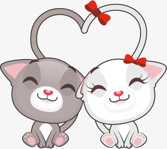 Котята любовь картинки мультяшные, надписью это