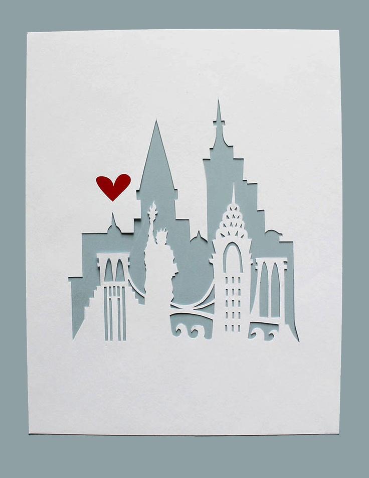 17 parasta ideaa: New York Painting Pinterestissä   New york ...