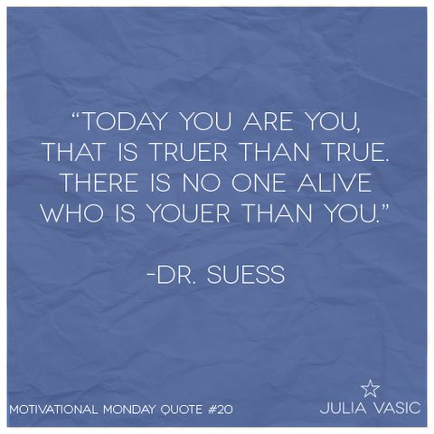 Today you are you. #inspiration #quotes