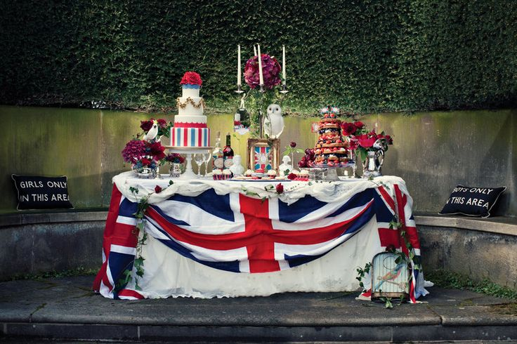 A british themed wedding  Photos by Dottie Photography  Stationery Dottie Creations