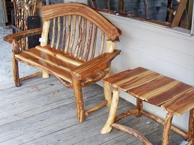 Ohio Valley Rustics Log Furniture, Barn Wood Furniture