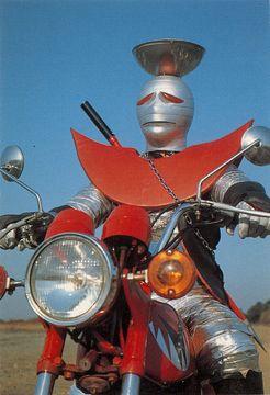 ワルダー....キカイダ-01 シリーズ! 1970's
