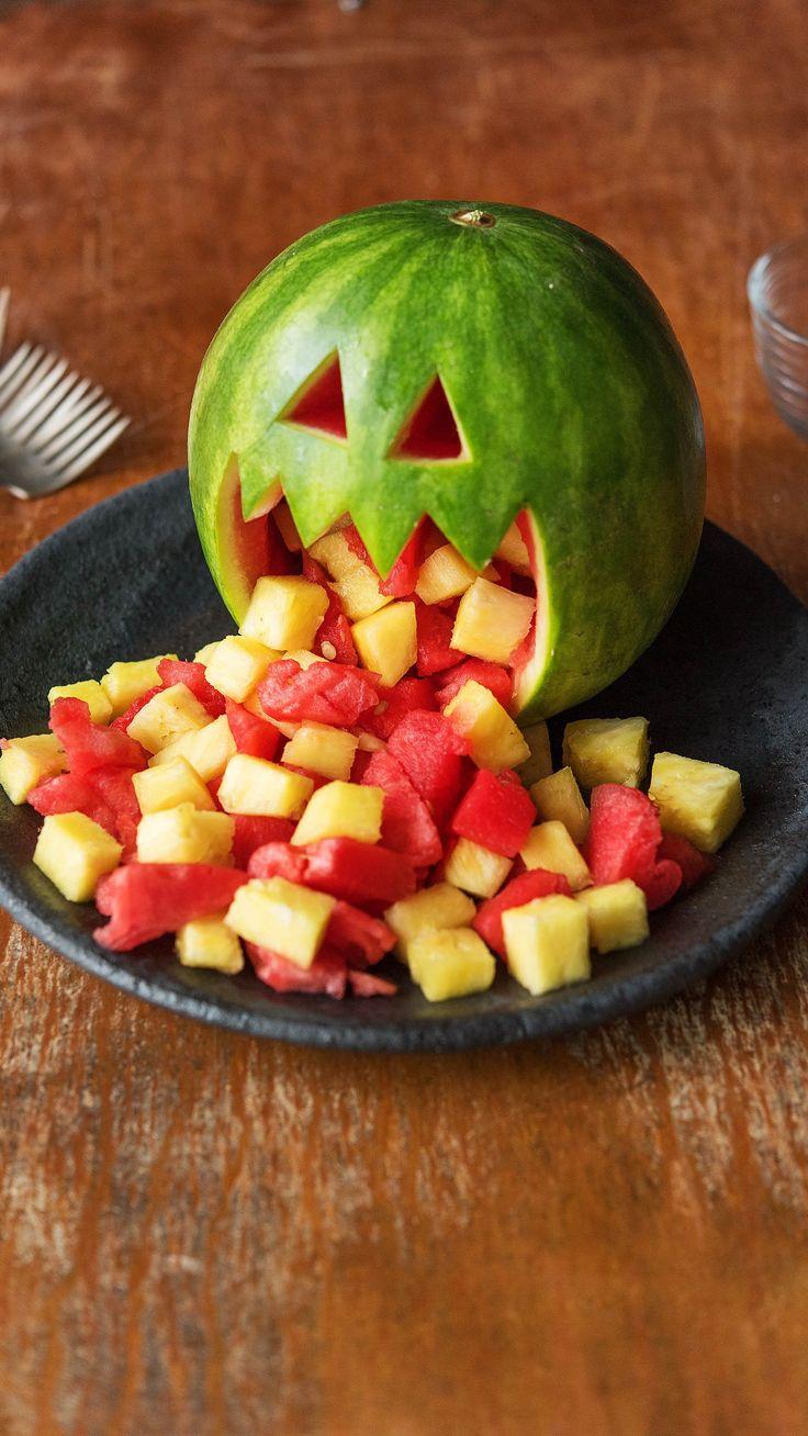 Rezept: Furcht vor Halloween-Snacks – Für Kinder und die ganze Familie Gesund …   – Kochen mit Kindern ❤ | Einfache Rezepte für Kids