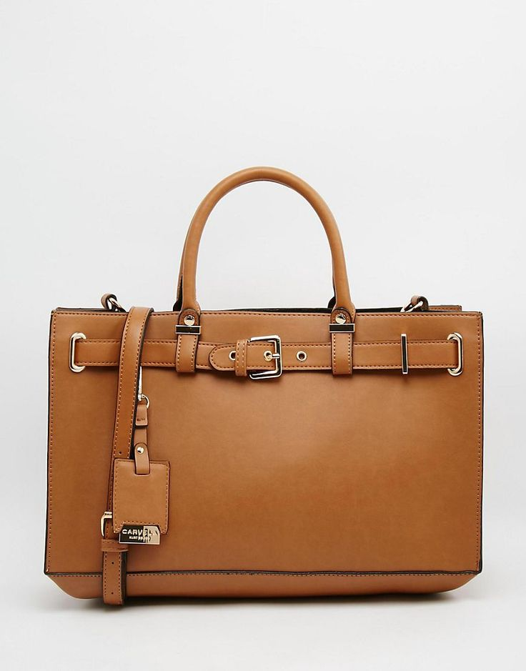 Image 1 of Carvela Tote Bag With Buckle Hardwear