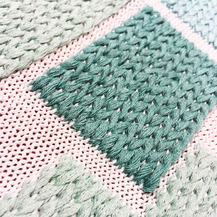 30th April 2016 - Colour story knits.