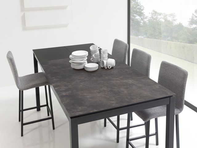 Les 25 meilleures id es de la cat gorie table ceramique extensible sur pinter - Table haute originale ...