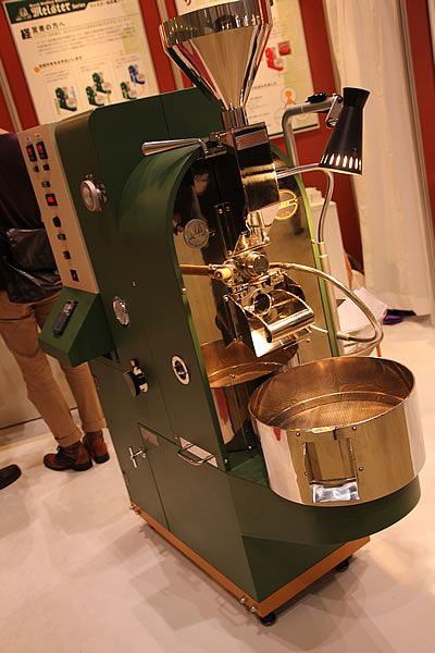 バッハさんの焙煎機