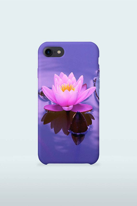 Water Lilly Mobile Case Art Pink and Purple design for iPhone Samsung Galaxy 3D Print full wrapped hard plastic back shell cover  iPhone 4 / 4S iPhone 5 / 5S iPhone 5C iPhone SE iPhone 6 iPhone 6S iPhone 6 Plus iPhone 6S Plus iPhone 7 iPhone 7 Plus  Samsung Galaxy S5 / S5 mini Samsung