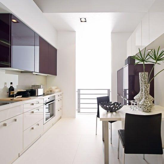 11 best images about galley kitchen ideas on pinterest for Galley kitchen diner designs