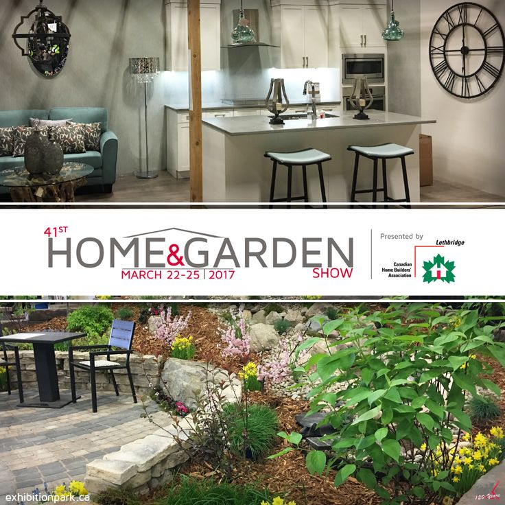 41st Annual Home & Garden Show | March 22-25  Admission: $7.00 per person under 10 free Parking: $5.00 per vehicle  More: www.exhibitionpark.ca  Presented by: Canadian Home Builders Association - Lethbridge Region  #HGLethbridge #yql #ItsAtTheEX #Lethbridge