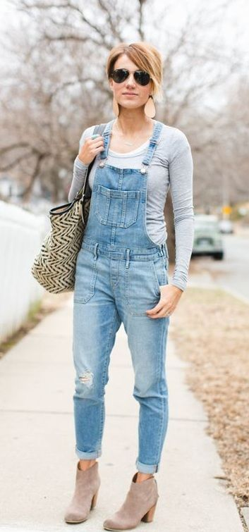 e9e5422b42ca 12 Awe-Inspiring Dungaree Outfit Ideas To Imitate Right Now ...