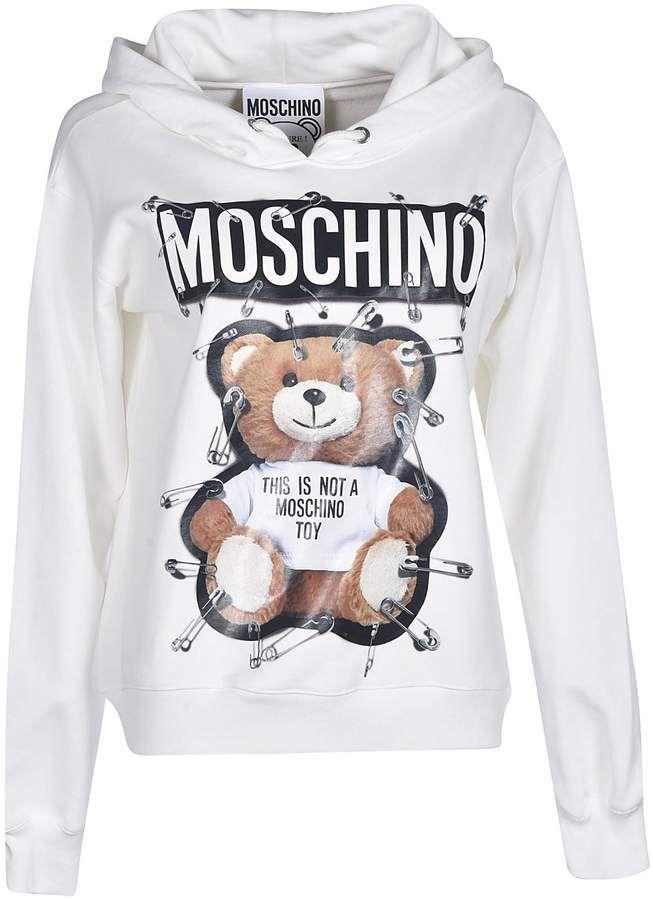 moschino sweatshirt teddy