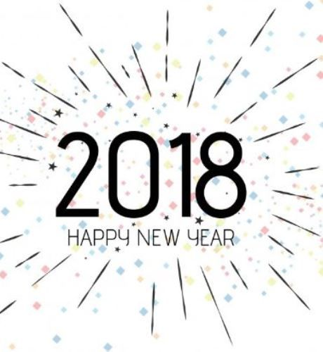 Happy new year 2018 verses to wish friends family. As the new year renews all the happiness and good tidings, hope the joyful spirit keeps glowing in your heart forever! Happy New Year!