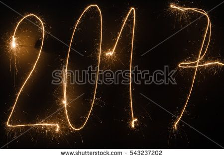 2017 written with sparklers. 2017, air, better, dark, fire, fireworks, light, new, new year, sparklers, symbol, writing, year