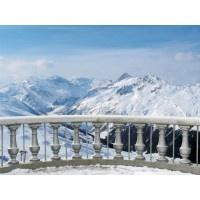 016VE XXXL - Icke-Vävd / Non-Woven Fototapet Alpine View