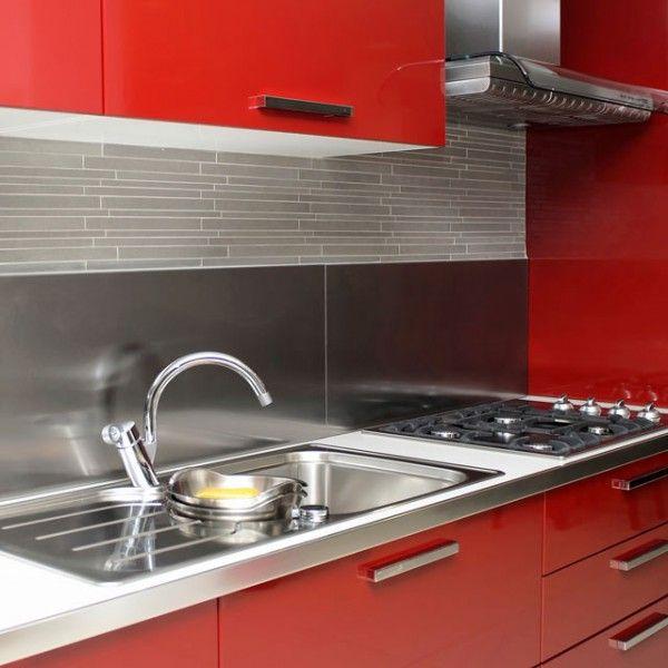 Cr dence cuisine en 47 photos id es conseils for Credence aimantee cuisine