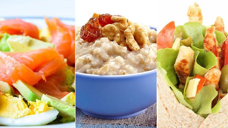 FROKOSTTIPS: Kokt egg med laks og avokado, havregrøt eller wraps er fristende og næringsrik frokostmat.